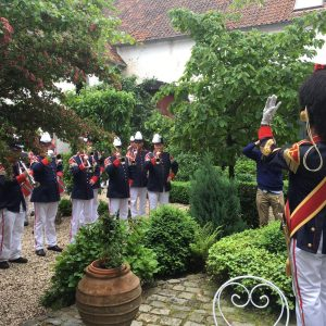 Music at the courtyard