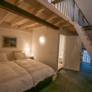 Anna Room 2, sleeps four people.